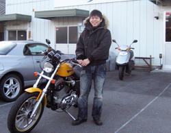岡山さんと愛車XL1200S