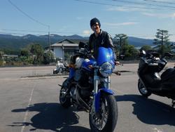 高山さんと愛車Buell M2 2001年式
